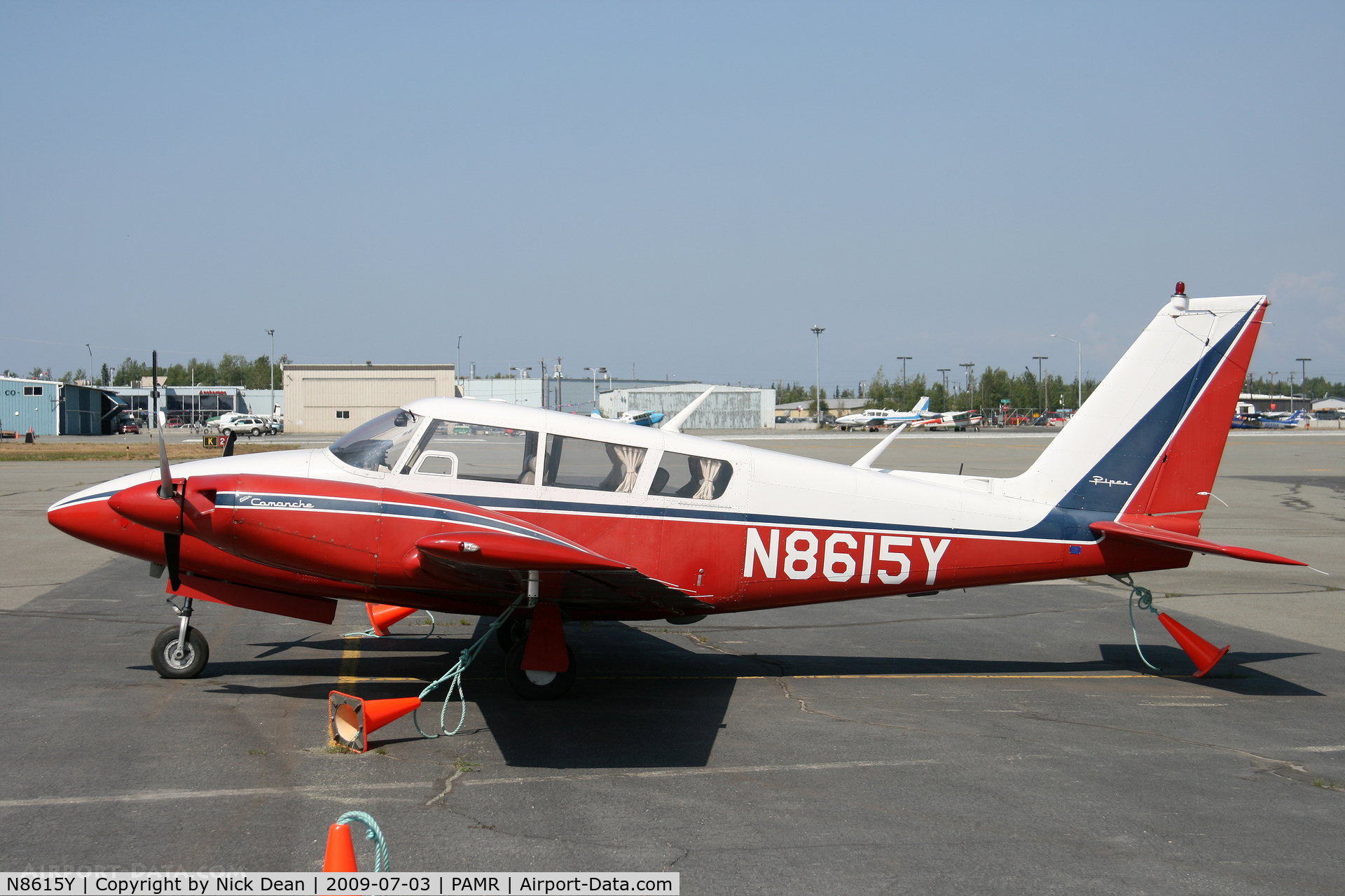 N8615Y, 1968 Piper PA-30-160 Twin Comanche C/N 30-1755, PAMR