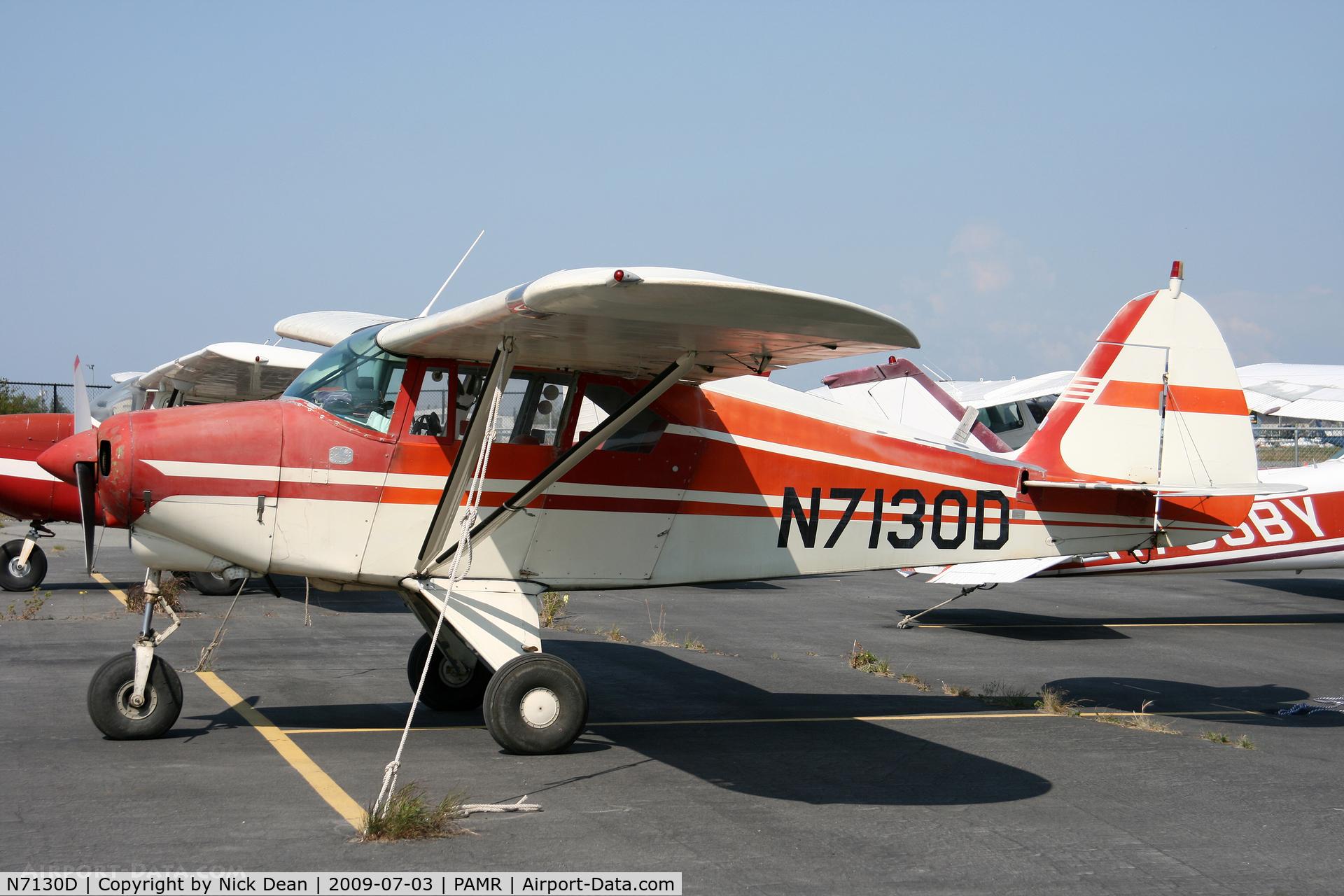 N7130D, 1957 Piper PA-22-150 C/N 22-4992, PAMR