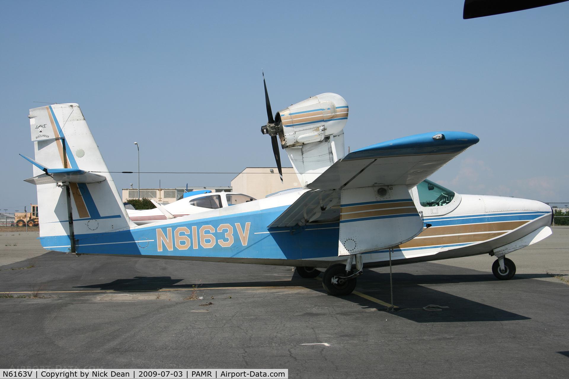 N6163V, 1977 Consolidated Aeronautics Inc. LAKE LA-4-200 C/N 816, PAMR