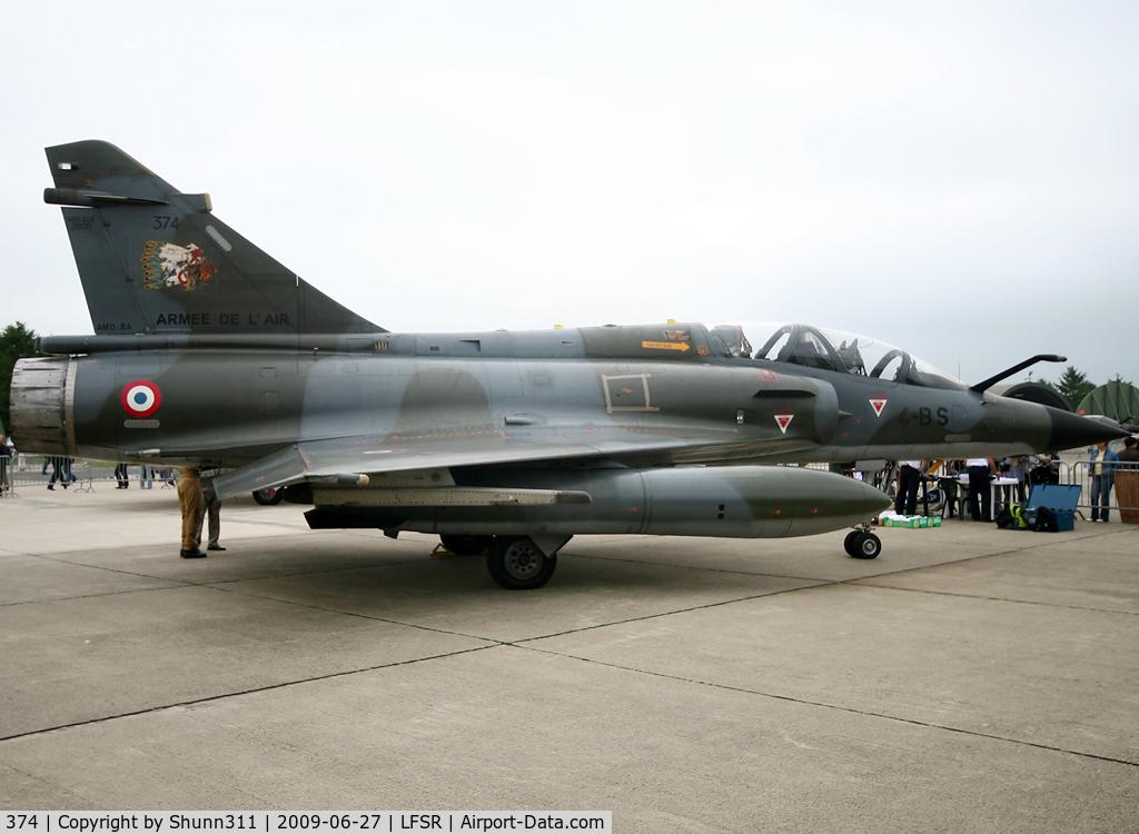 374, Dassault Mirage 2000N C/N 5502, Displayed during last LFSR Airshow...