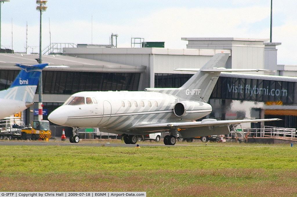 G-IFTF, 1985 British Aerospace BAe.125-800B C/N 258021, Albion Aviation