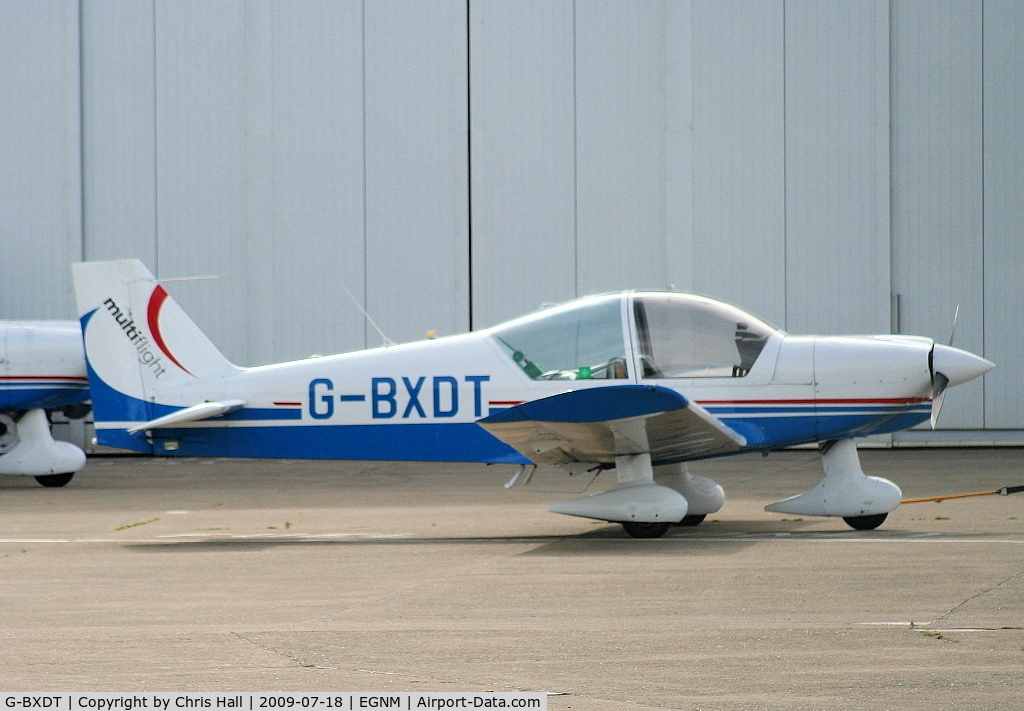 G-BXDT, 1997 Robin HR-200-120B Club C/N 315, Multiflight Ltd