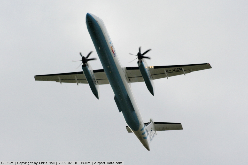 G-JECM, 2005 De Havilland Canada DHC-8-402Q Dash 8 C/N 4118, flybe