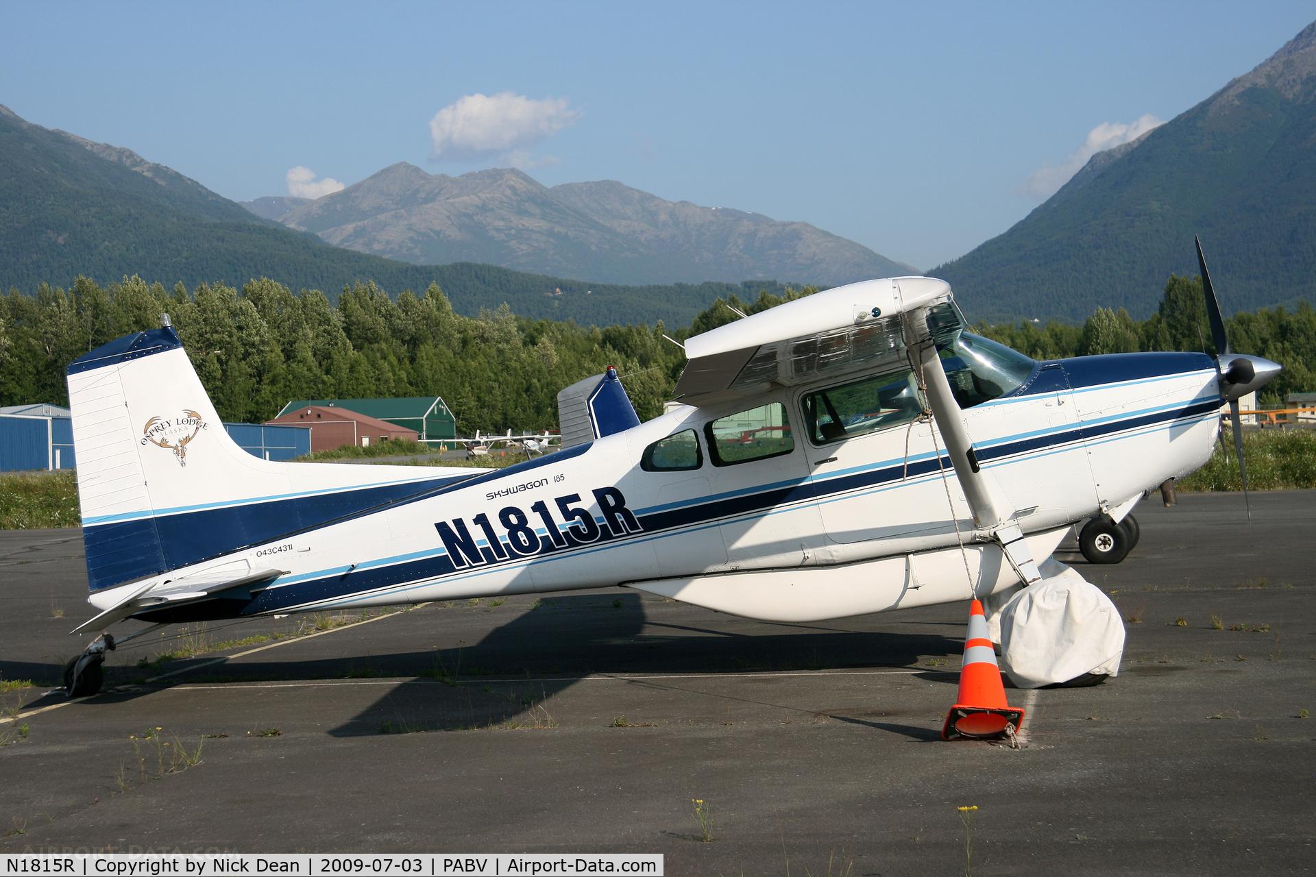 N1815R, 1974 Cessna A185F Skywagon 185 C/N 18502530, PABV