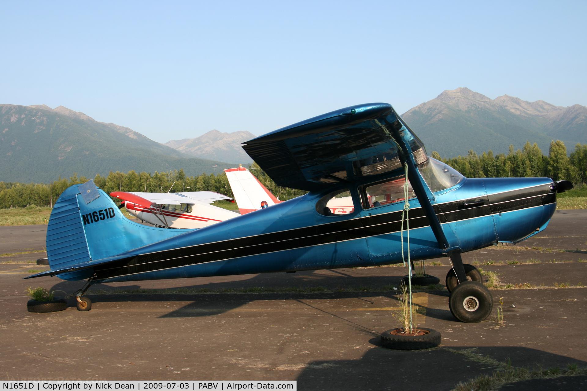 N1651D, 1952 Cessna 170B C/N 20293, PABV