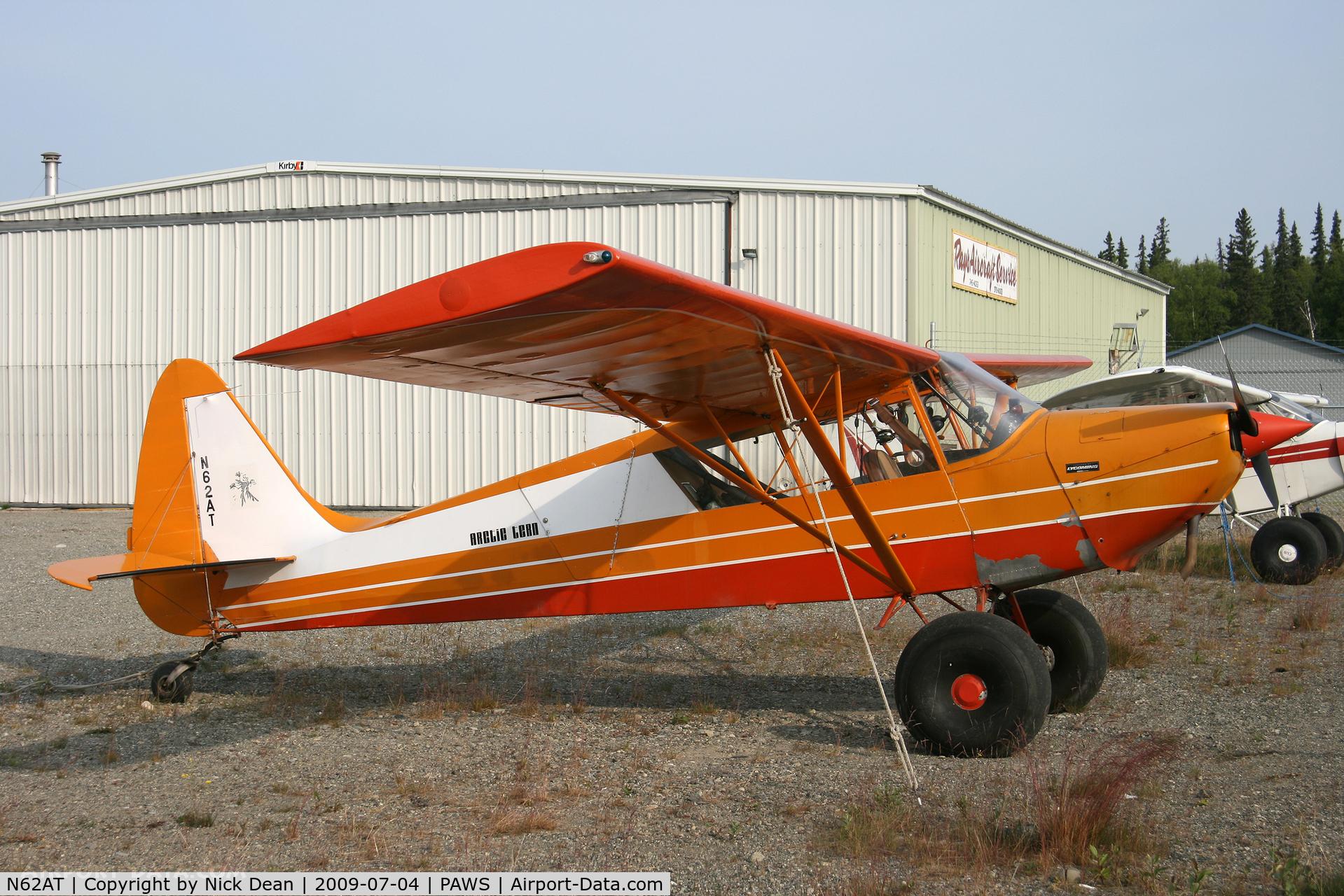 N62AT, 1980 Arctic Aircraft Co Inc S-1B2 C/N 1013, PAWS