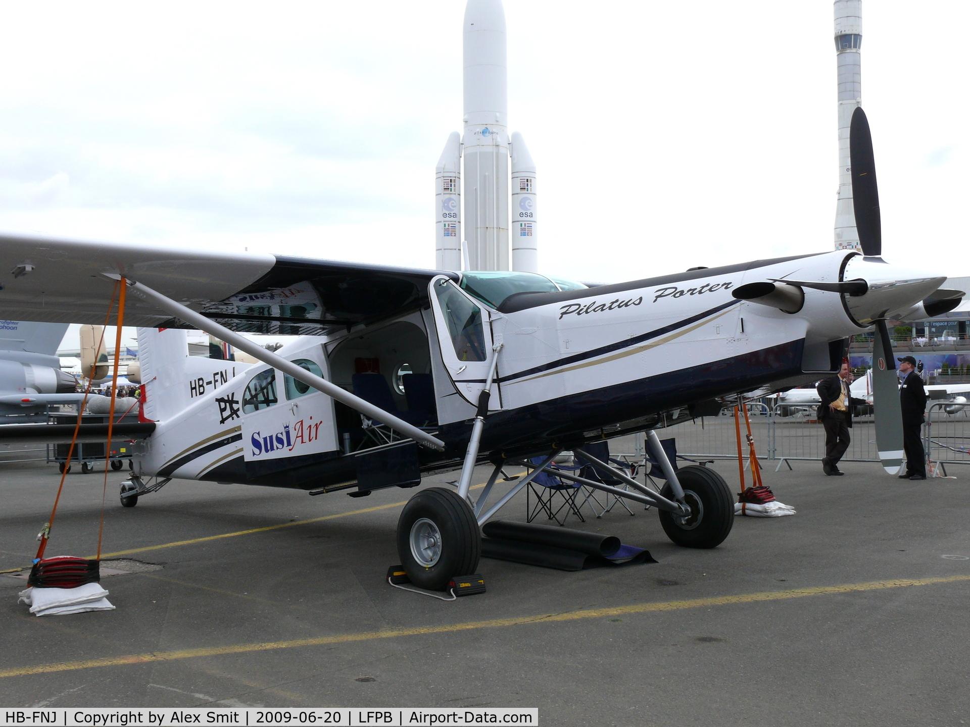 Aircraft Hb Fnj 2009 Pilatus Pc 6 B2 H4 Turbo Porter C N 965