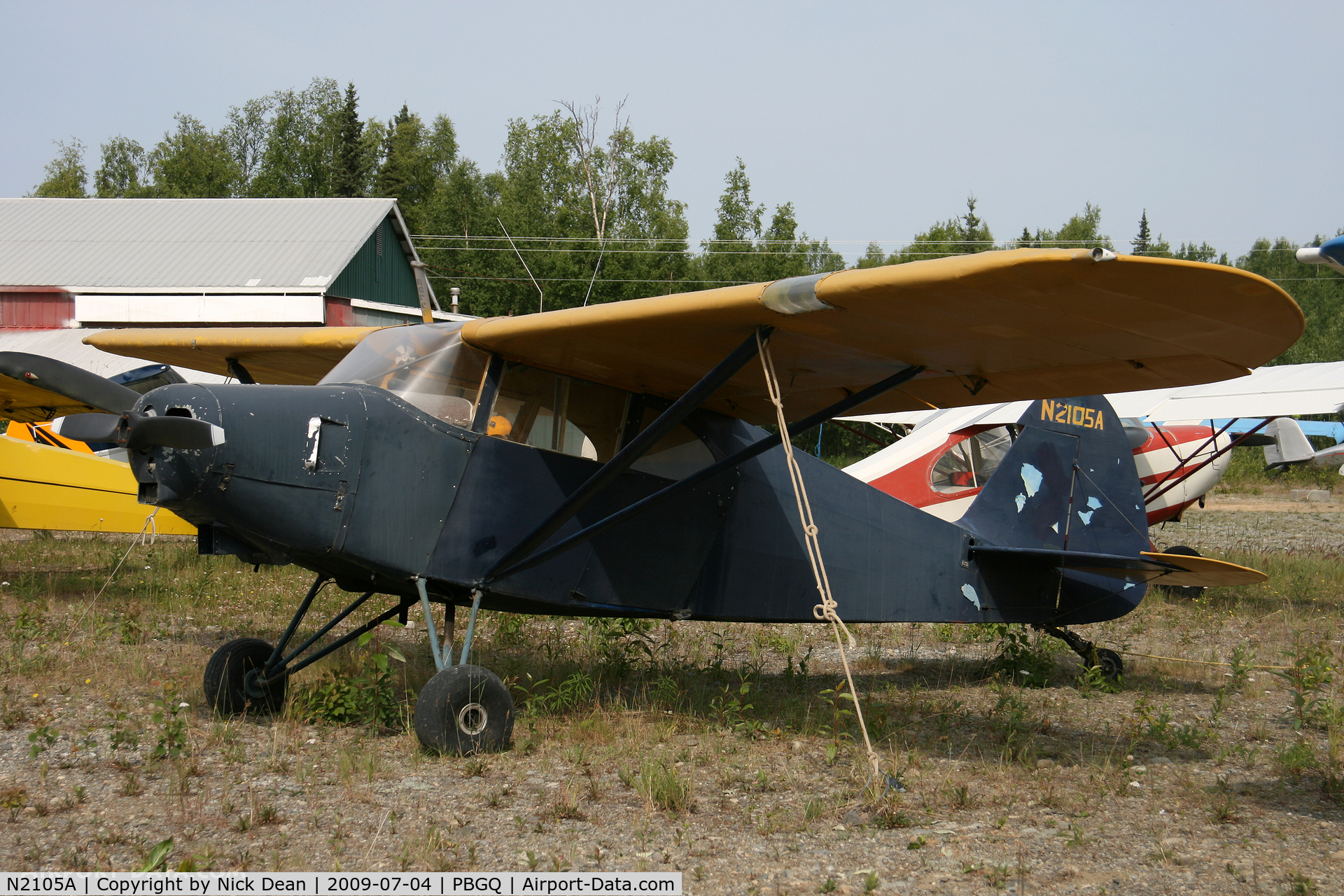 N2105A, 1952 Piper PA-20-135 Pacer C/N 20-889, PBGQ
