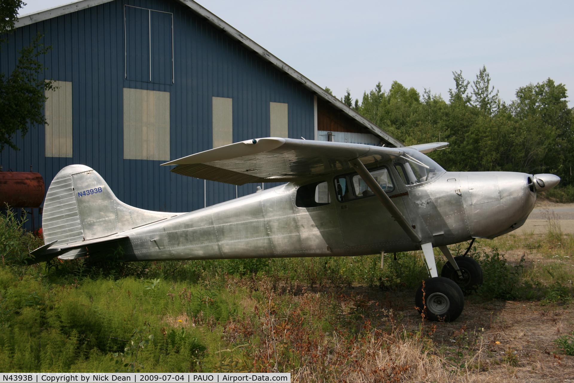 N4393B, 1955 Cessna 170B C/N 26737, PAUO