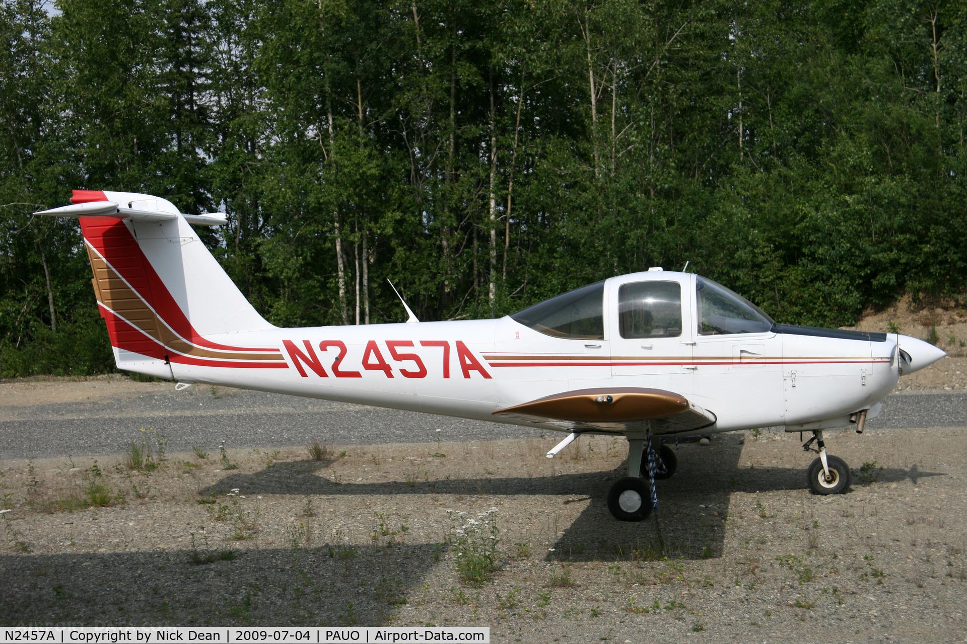 N2457A, 1978 Piper PA-38-112 Tomahawk Tomahawk C/N 38-78A0699, PAUO