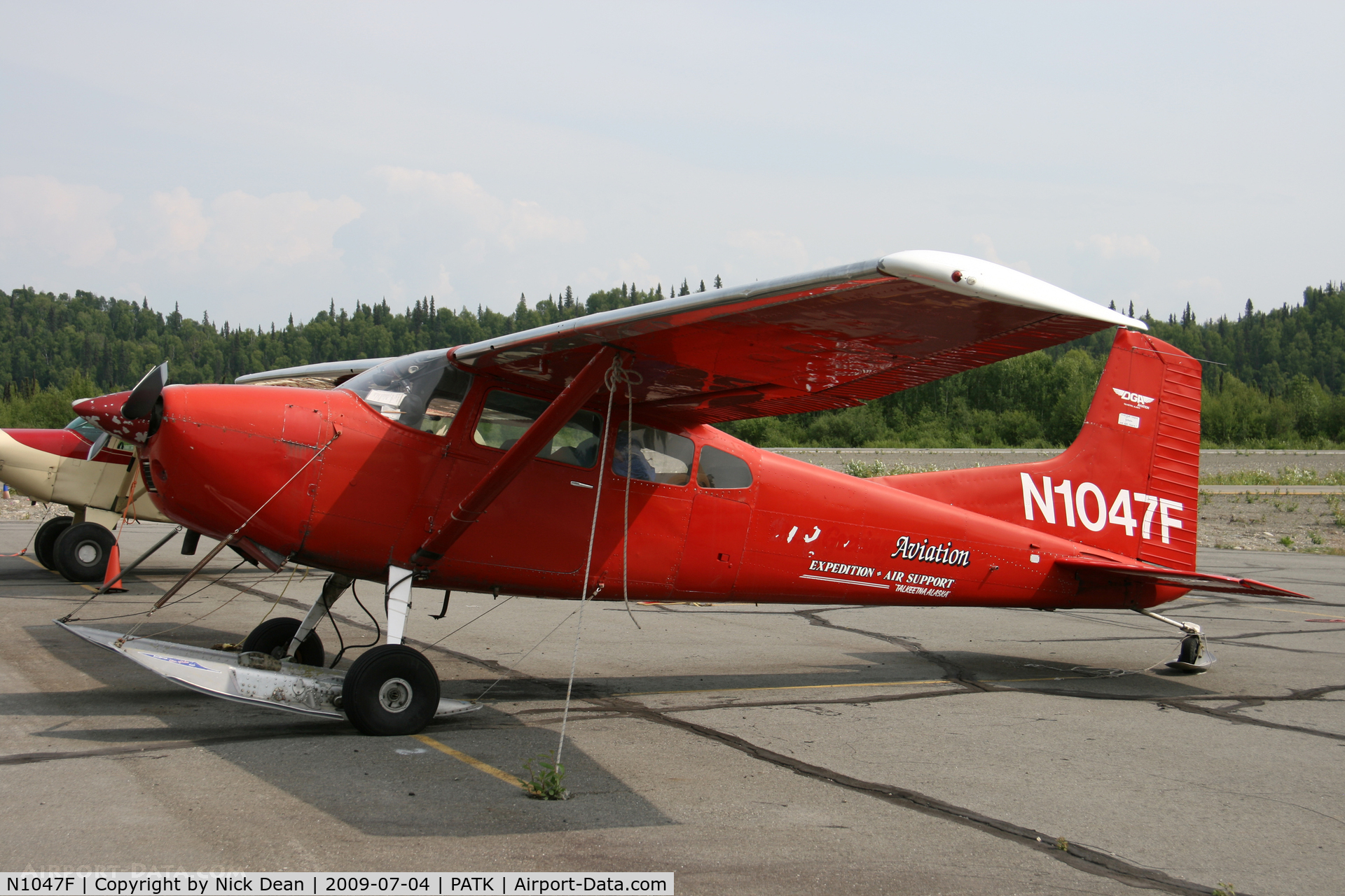 N1047F, 1975 Cessna A185F Skywagon 185 C/N 18502704, PATK