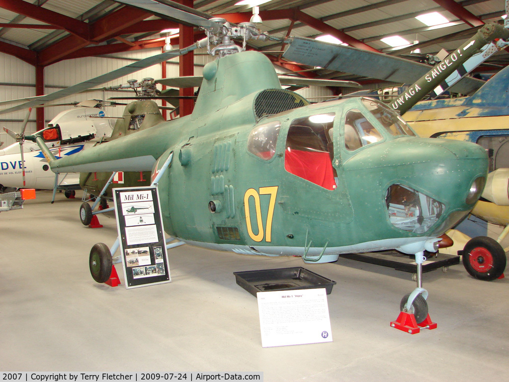 2007, 1961 PZL-Swidnik SM-2 C/N S2-03006, Exhibited in the International Helicopter Museum , Weston-Super Mare , Somerset , United Kingdom