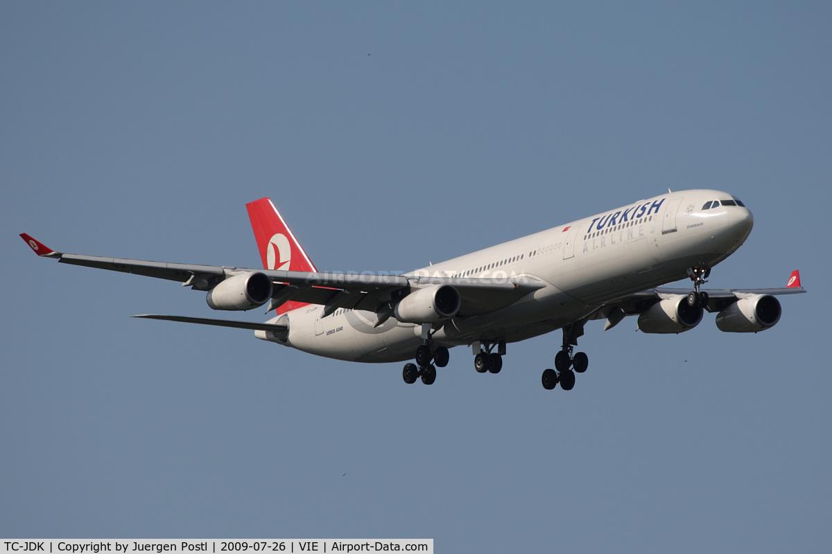 TC-JDK, 1993 Airbus A340-311 C/N 025, Airbus A340-311