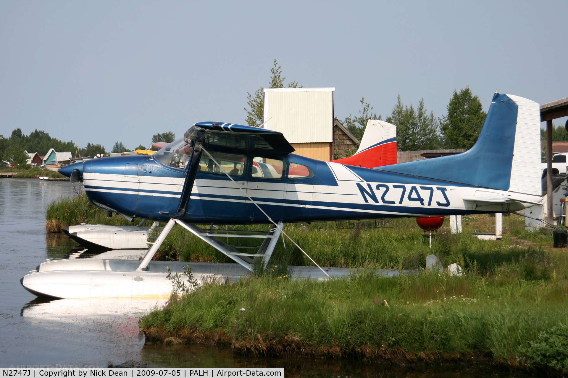 N2747J, 1969 Cessna A185E Skywagon 185 C/N 185-1497, PALH