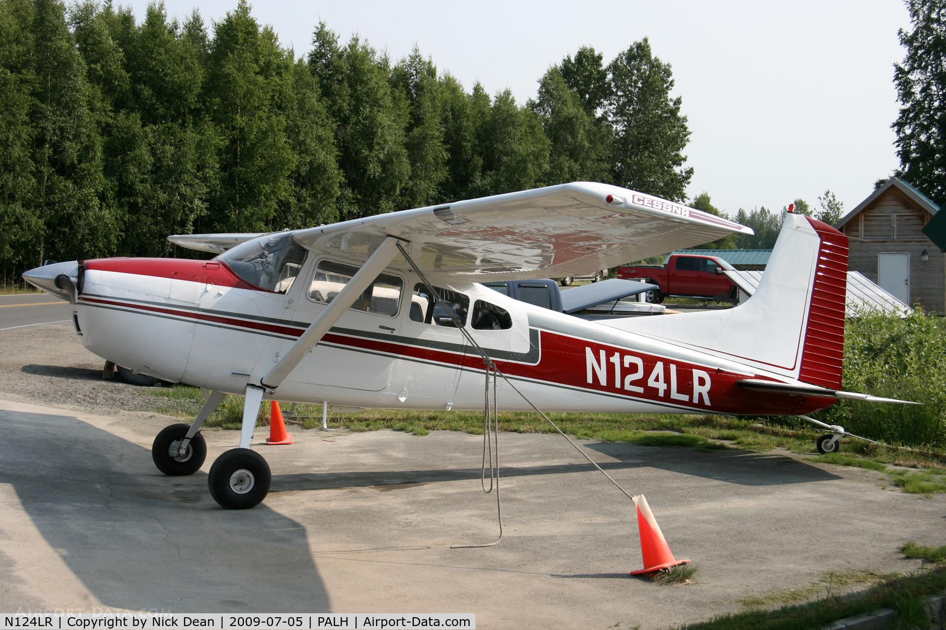 N124LR, 1970 Cessna A185E Skywagon 185 C/N 18501639, PALH