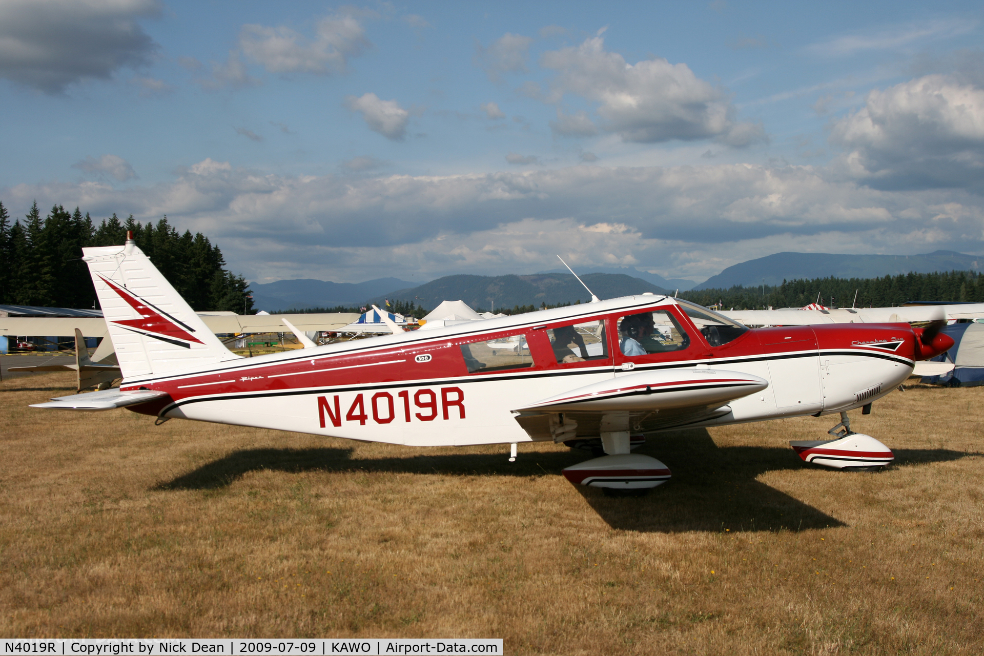 N4019R, 1967 Piper PA-32-300 Cherokee Six C/N 32-40316, KAWO