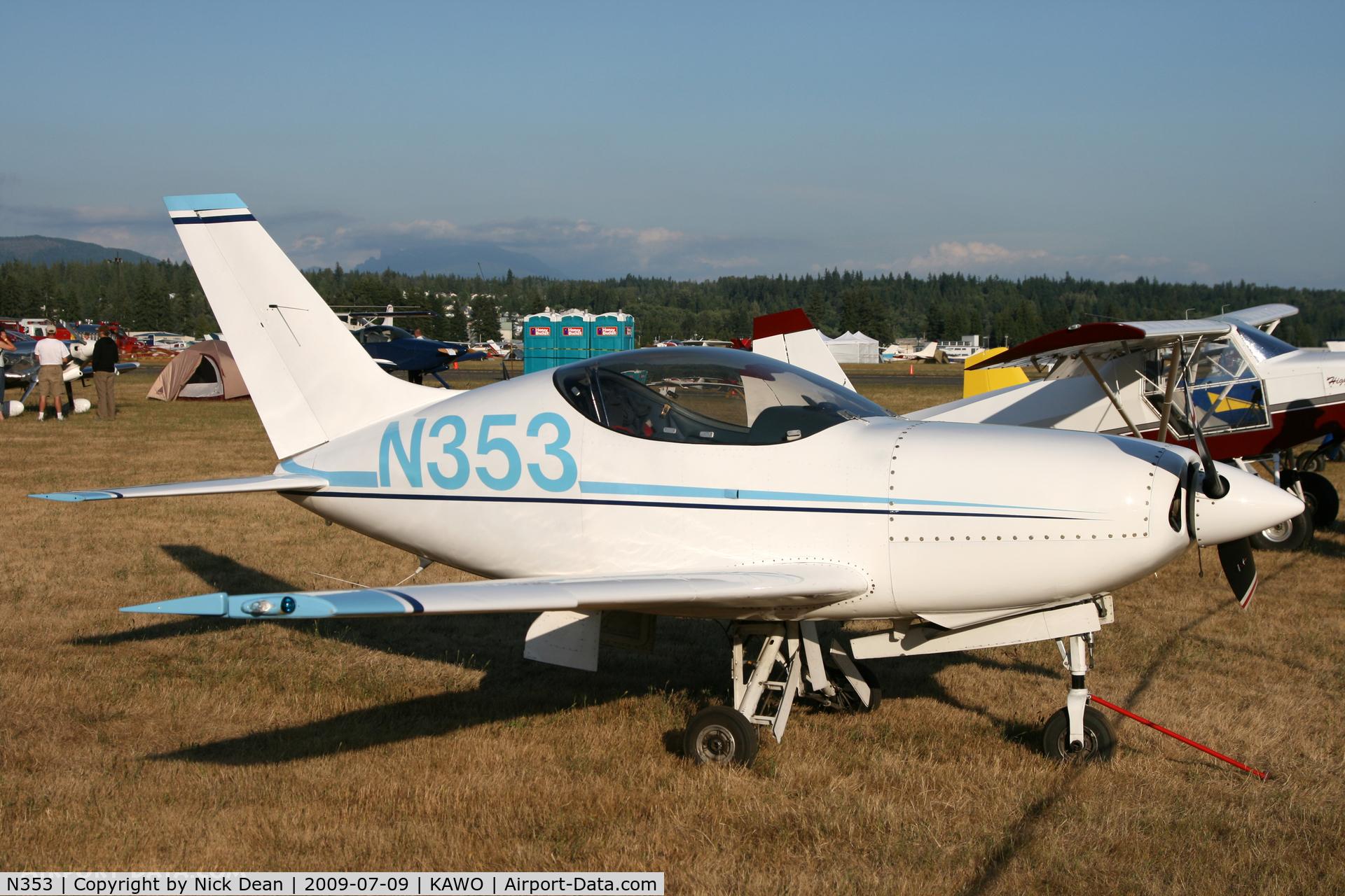 N353, 1999 Questair Venture 20 C/N AT-7, KAWO