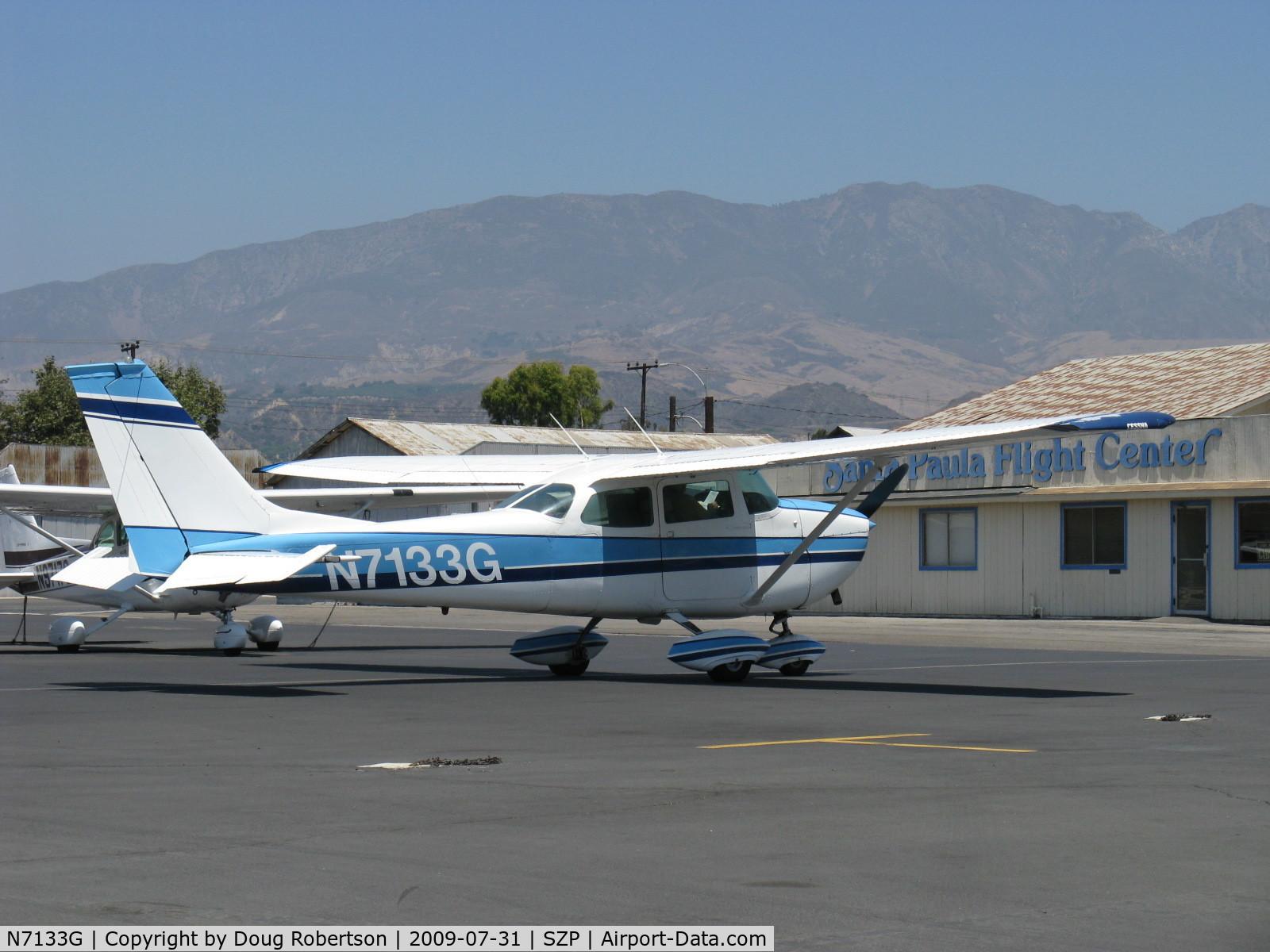 N7133G, 1969 Cessna 172K Skyhawk C/N 17258833, 1969 Cessna 172K, Lycoming O-320-E2D 150 Hp, pre-start