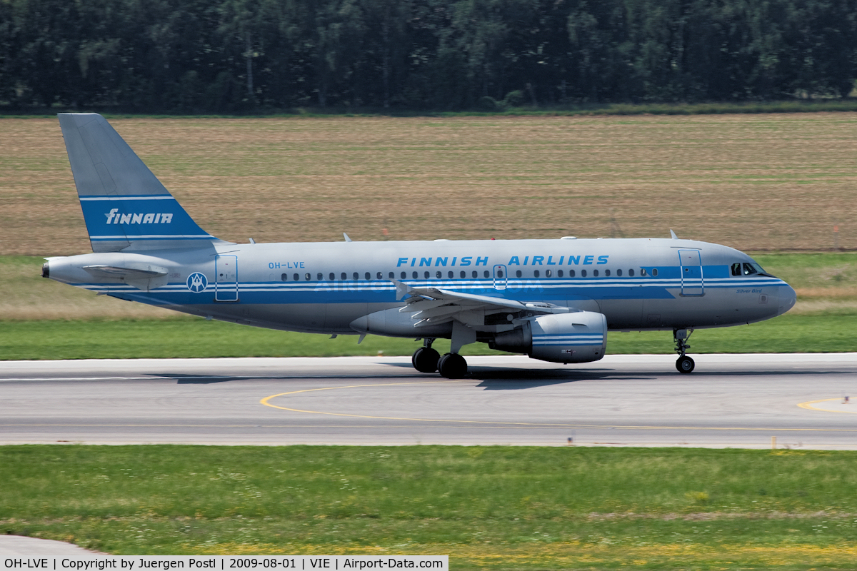 OH-LVE, 2002 Airbus A319-112 C/N 1791, Airbus A319-112