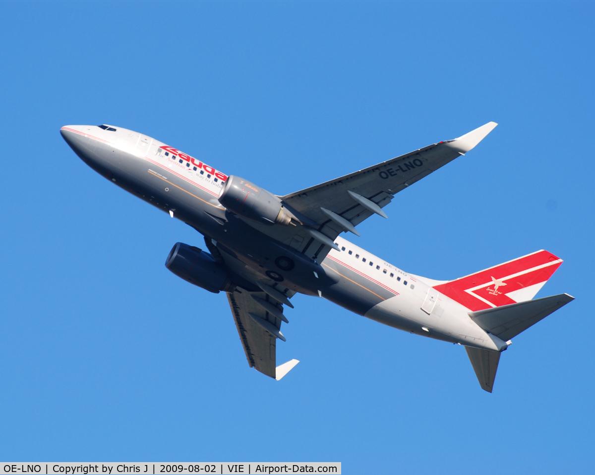 OE-LNO, 2001 Boeing 737-7Z9 C/N 30419, Lauda Air Boeing 737-7Z9