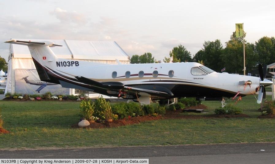 N103PB, 2009 Pilatus PC-12/47E C/N 1103, EAA Airventure 2009