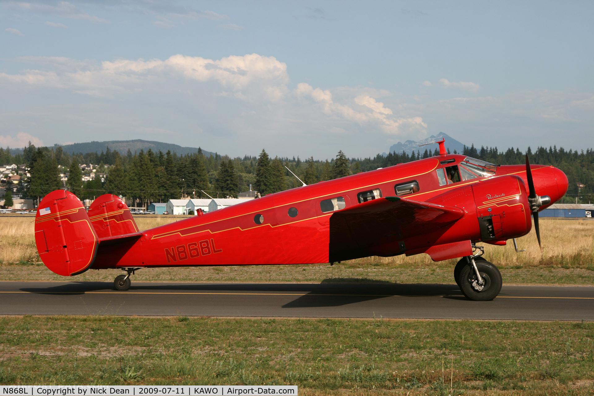 N868L, 1946 Beech D18S C/N A-173, KAWO