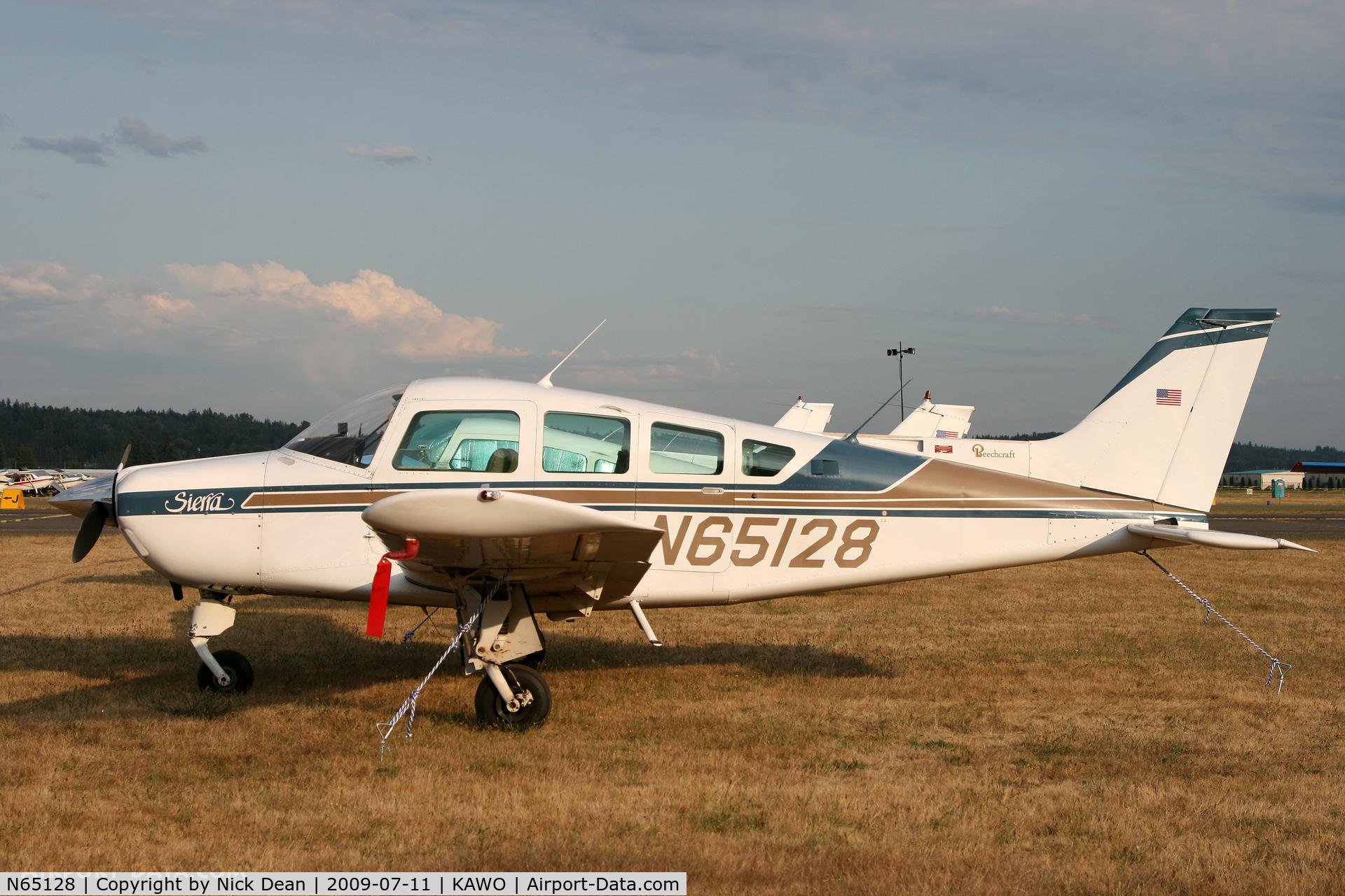 N65128, 1982 Beech C24R C/N MC-783, KAWO