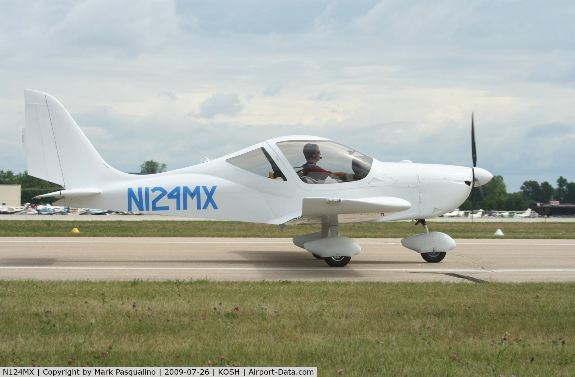 N124MX, Evektor-Aerotechnik Sportstar Max C/N 2009 1204, Sportsman Max