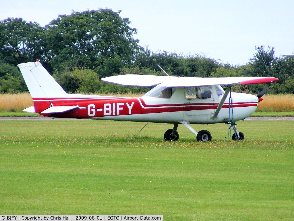 G-BIFY, 1972 Reims F150L C/N 0829, BONUS AVIATION LTD, Previous ID: PH-CEZ