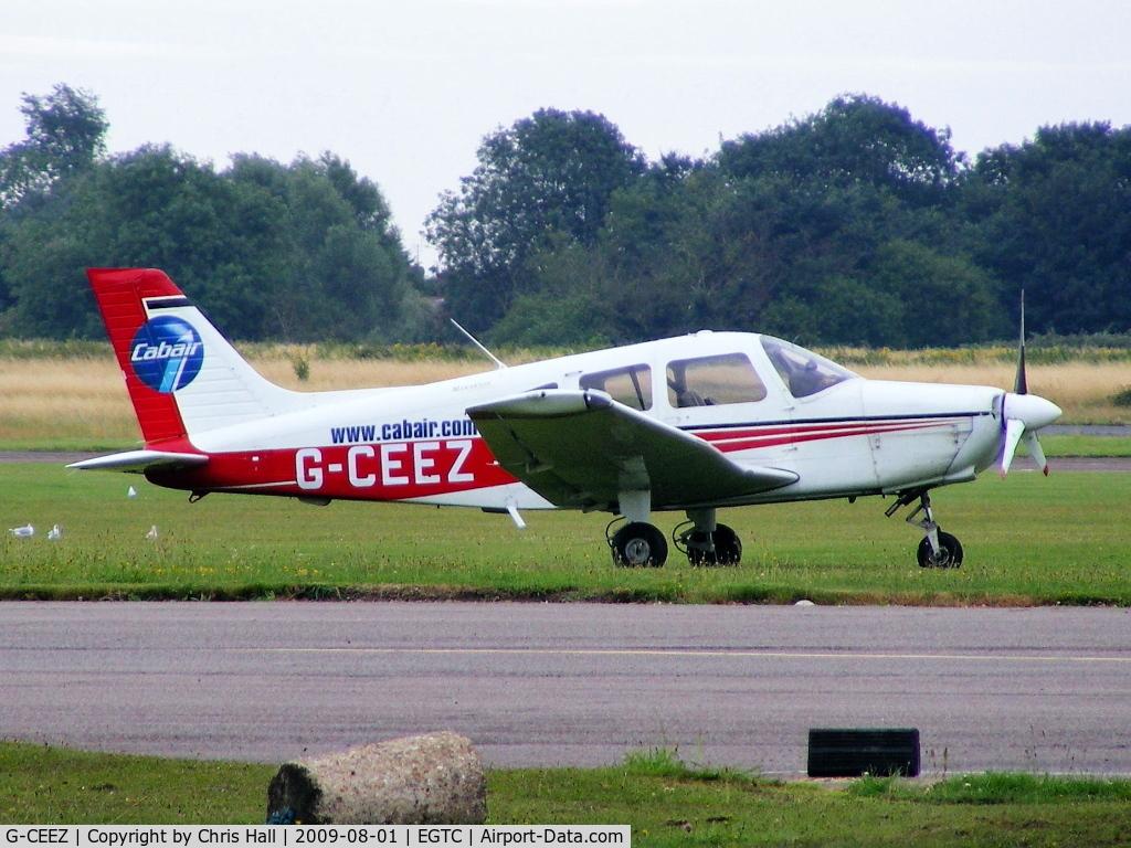 G-CEEZ, 2002 Piper PA-28-161 Warrior III C/N 2842161, Cabair, Previous ID: N53513