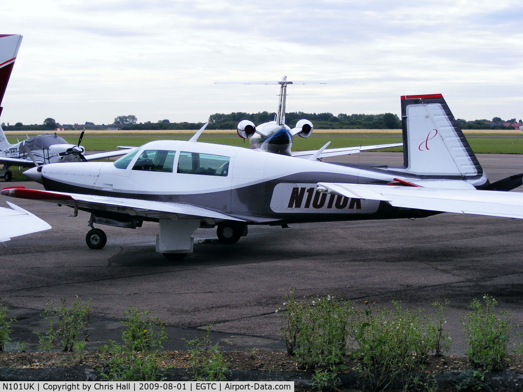 N101UK, 1981 Mooney M20K C/N 25-0631, SOUTHERN AIRCRAFT CONSULTANCY INC