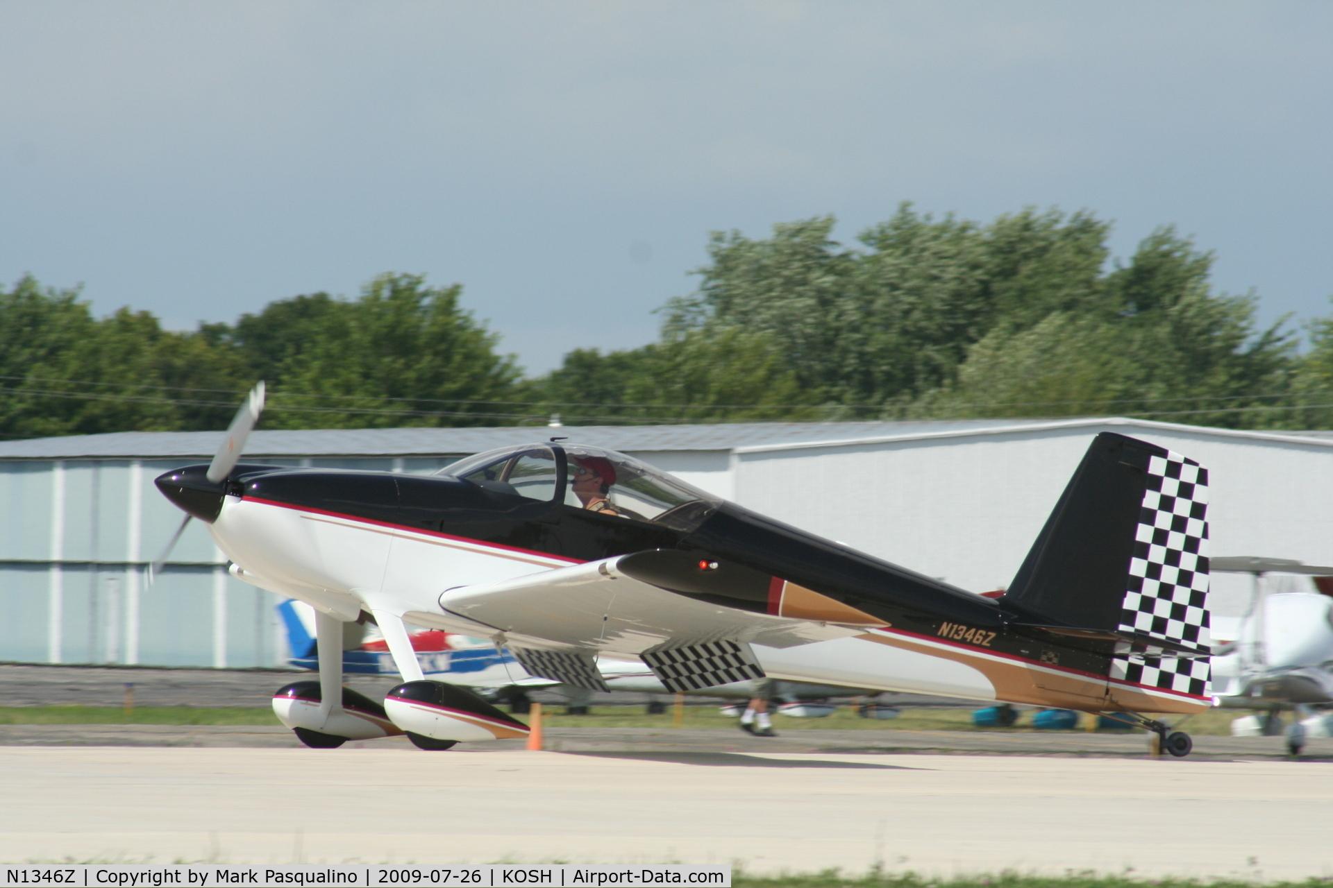 N1346Z, 2004 Vans RV-7 C/N 71029, RV-7