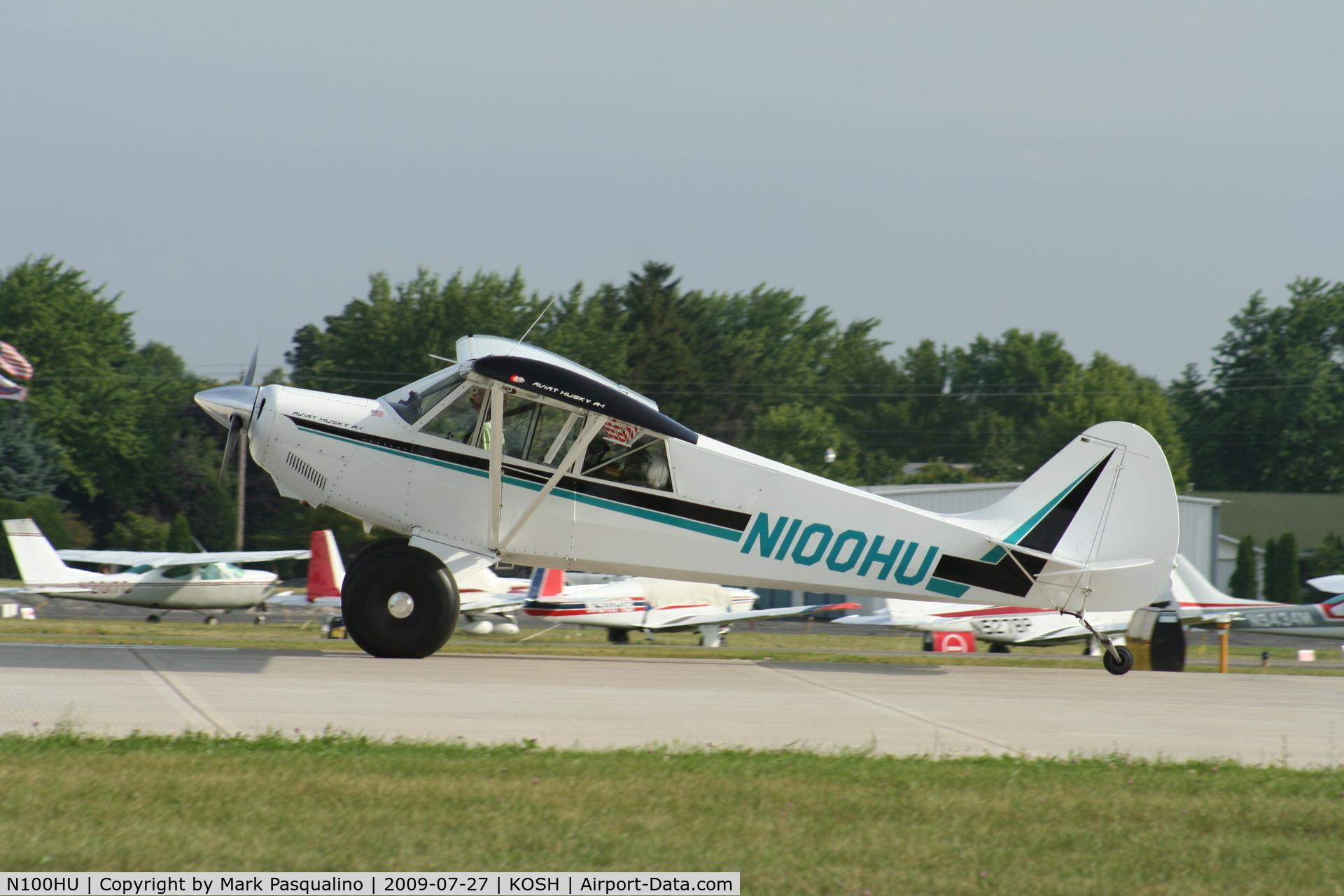 N100HU, 1996 Aviat A-1 Husky C/N 1319, Aviat A-1