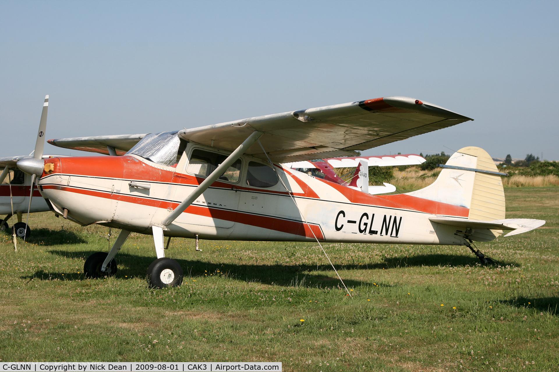 C-GLNN, 1952 Cessna 170B C/N 25359, CAK3 Delta Airpark BC