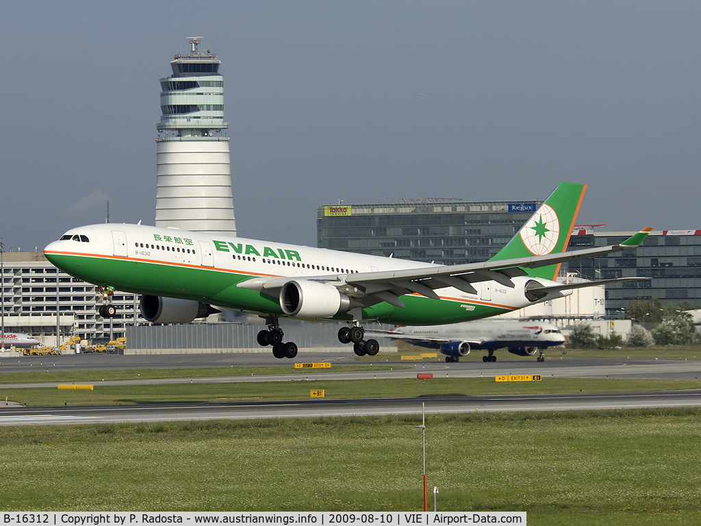 B-16312, 2006 Airbus A330-203 C/N 755, Last regular A 330 operator to/from VIE
