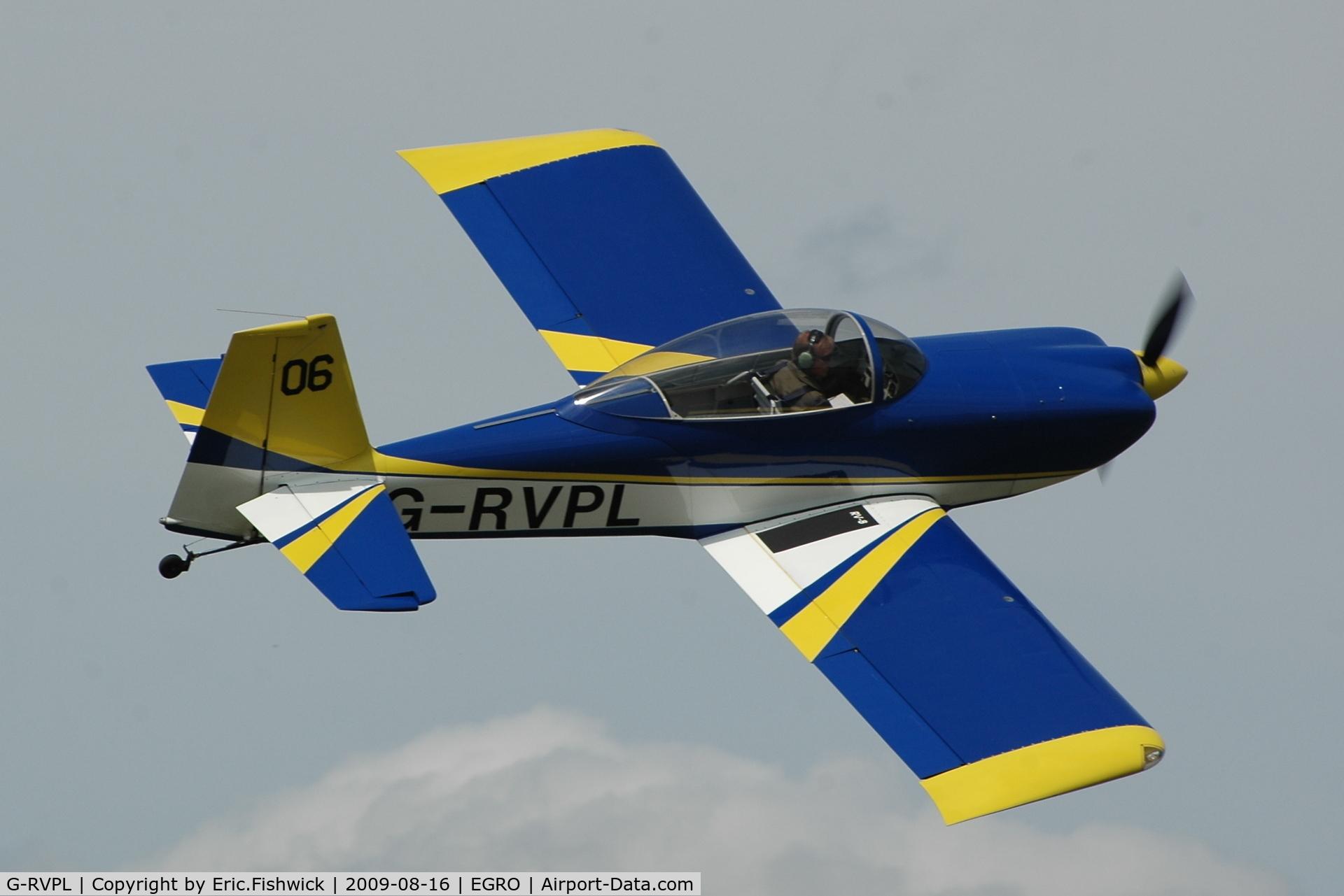 G-RVPL, 2006 Vans RV-8 C/N PFA 303-13885, G-RVPL at Heart Air Display, Rougham Airfield Aug 09