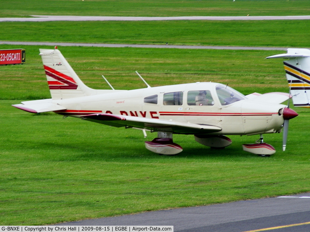 G-BNXE, 1981 Piper PA-28-161 C/N 28-8116034, privately owned