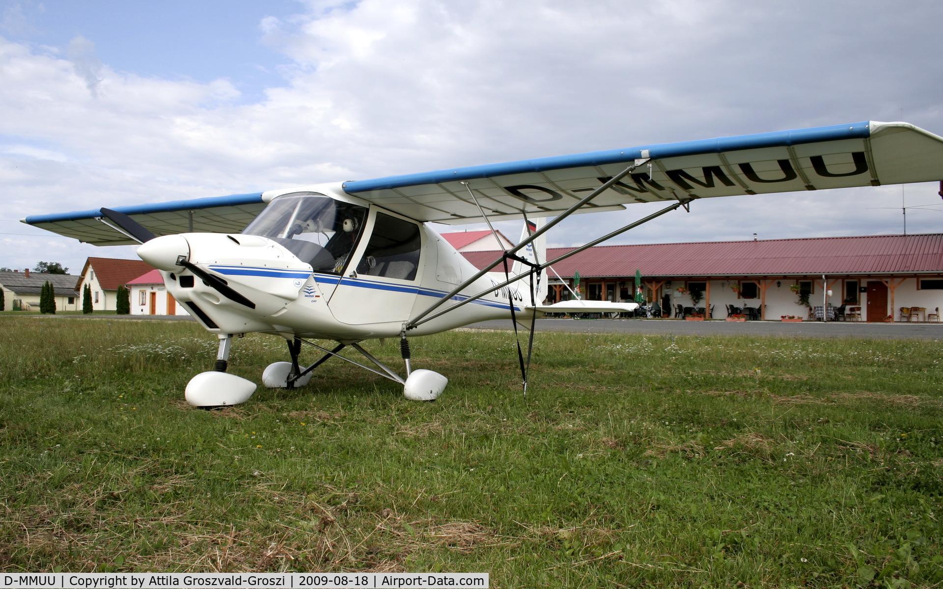 D-MMUU, 1998 Comco Ikarus C42 C/N 9801-6060, Aero Sag Airport - Tokorcs Hungary