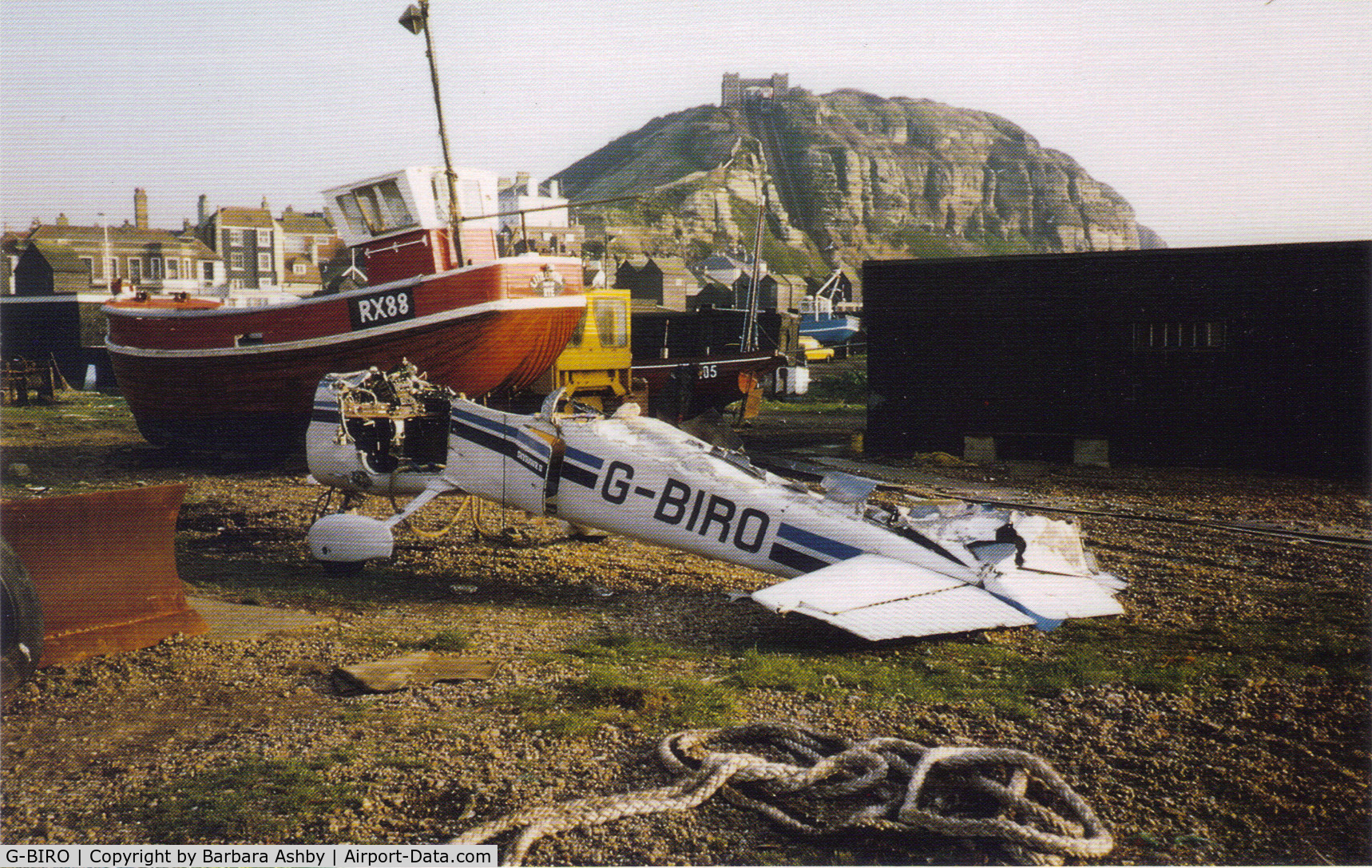 G-BIRO, 1981 Cessna 172P Skyhawk C/N 172-74826, The Stade, Old Town, Hastings.