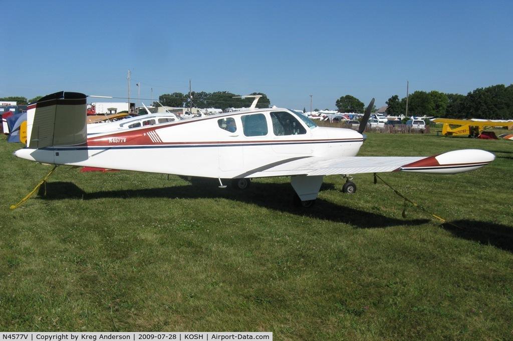 N4577V, 1947 Beech 35 Bonanza C/N D-952, EAA Airventure 2009