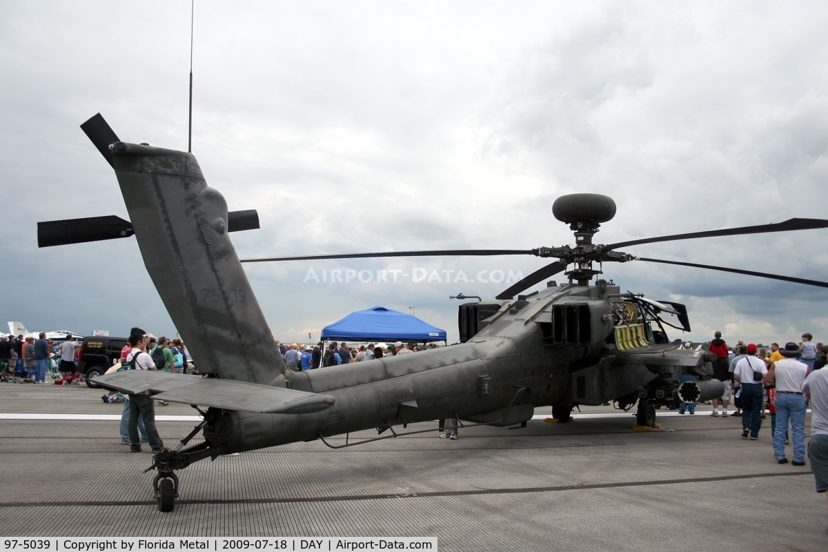 97-5039, 1983 Boeing AH-64D Longbow Apache C/N PVD039, AH-64D