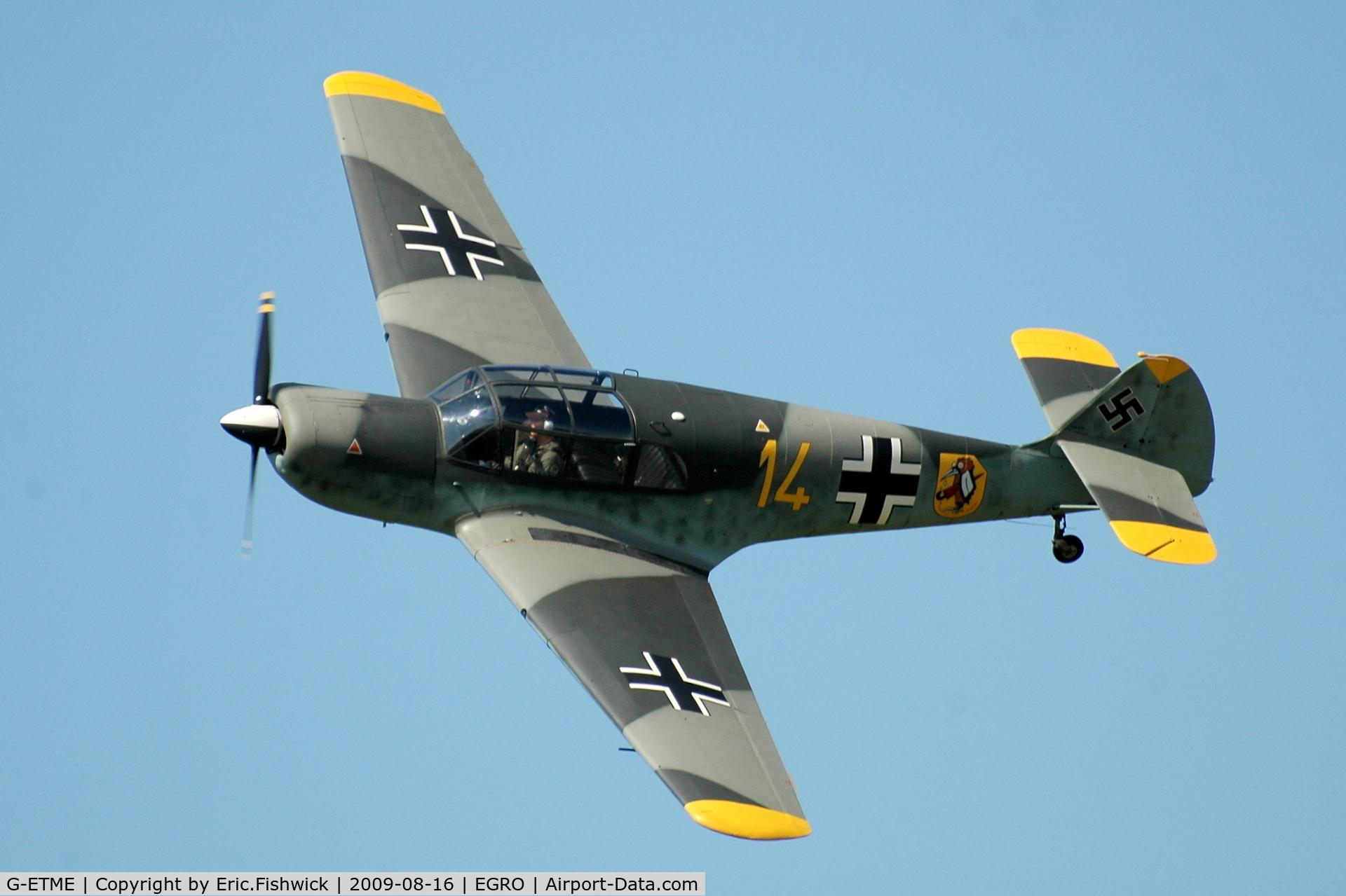 G-ETME, 1951 Nord 1002 Pingouin II C/N 274, 3. G-ETME at Heart Air Display, Rougham Airfield Aug 09