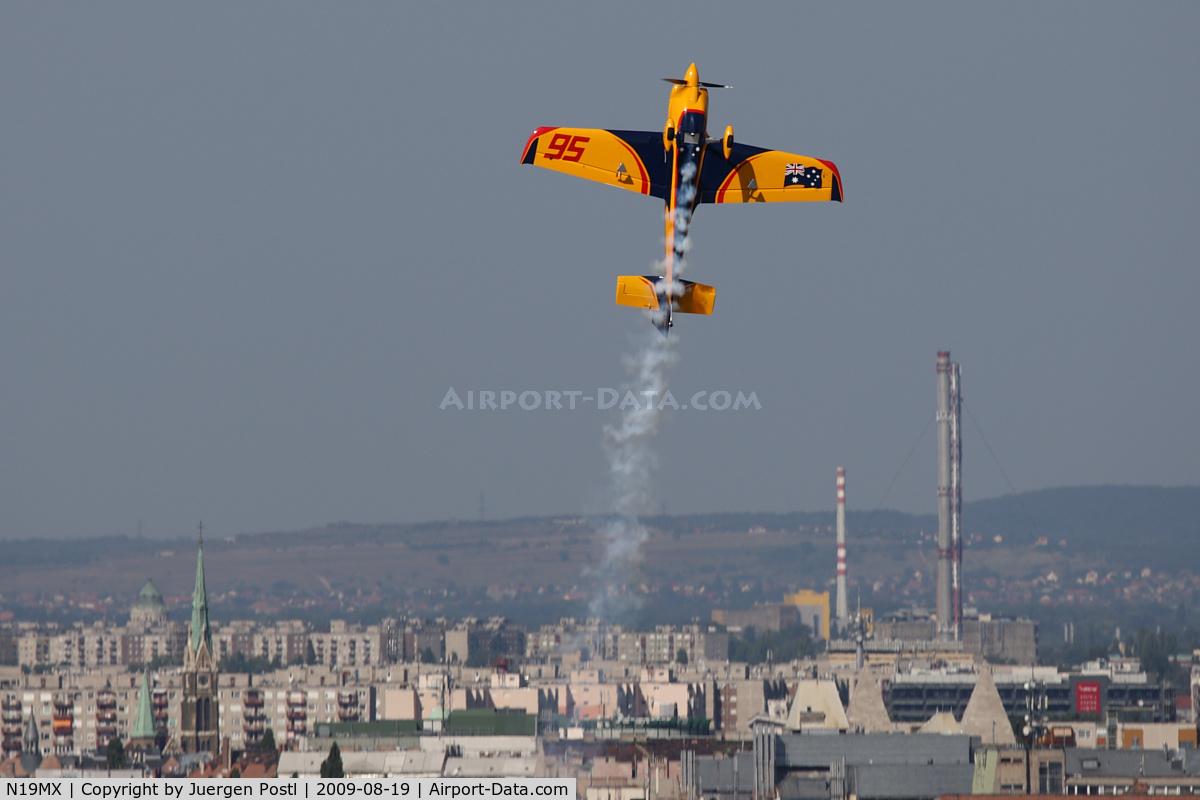 N19MX, MX Aircraft MXS C/N 7, Red Bull Air Race Budapest 2009 - Matt Hall