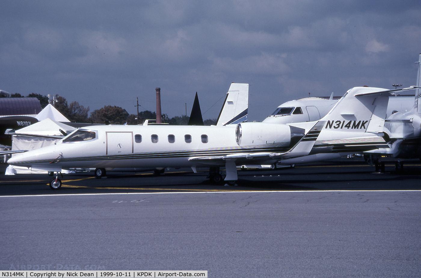 N314MK, 1991 Learjet 31A C/N 31A-040, KPDK