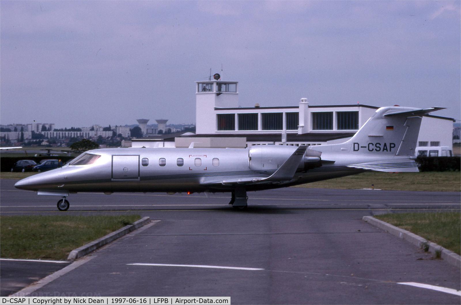 D-CSAP, 1992 Learjet 31A C/N 31-057, LFPB Paris Le Bourget