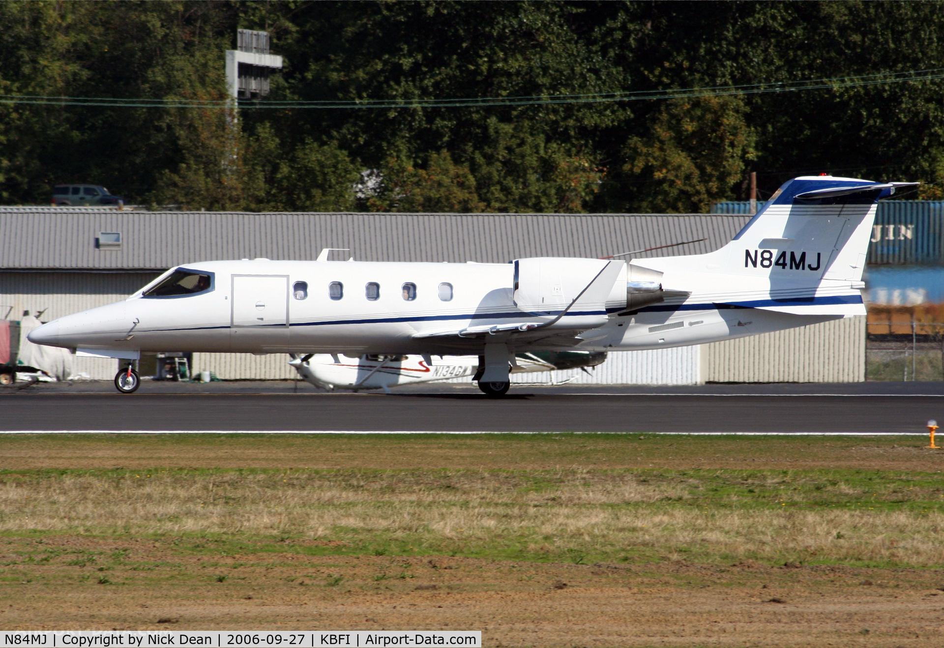 N84MJ, 2002 Learjet 31A C/N 31A-237, KBFI
