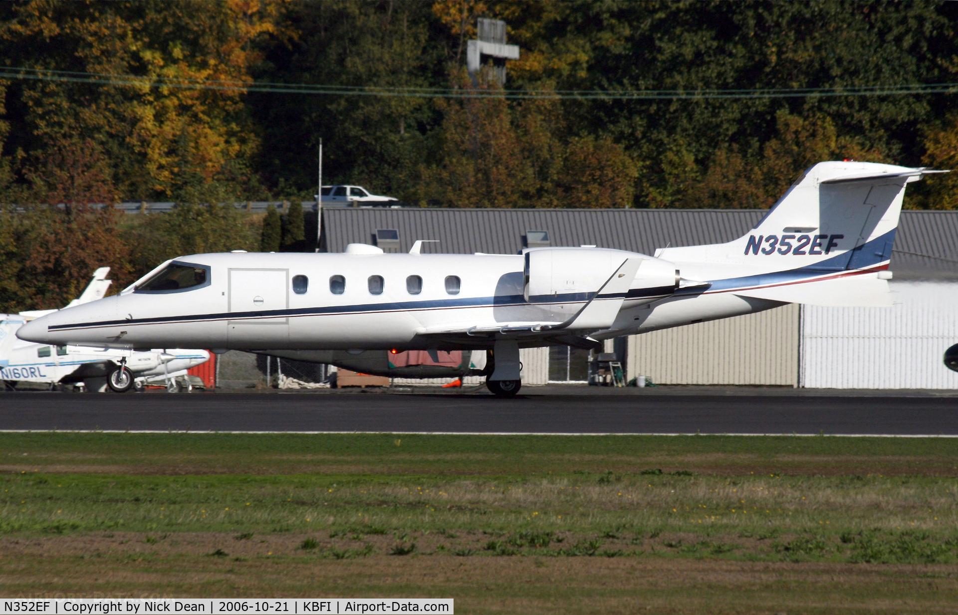 N352EF, 1992 Learjet Inc 31A C/N 046, KBFI