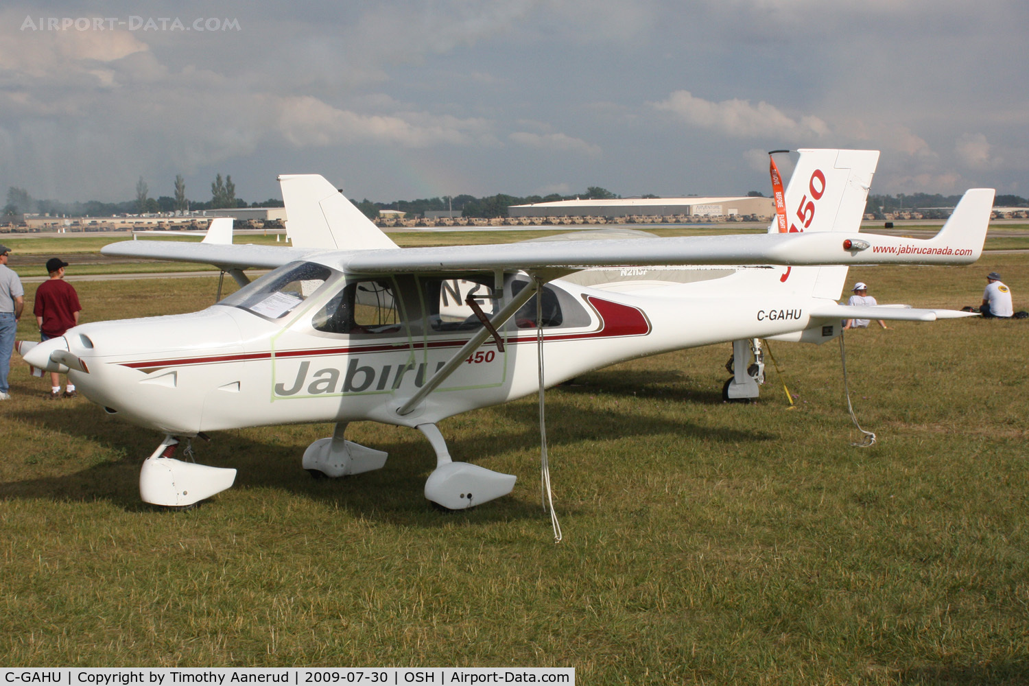 Aircraft C-GAHU (2004 Jabiru J450 C/N 101) Photo by Timothy