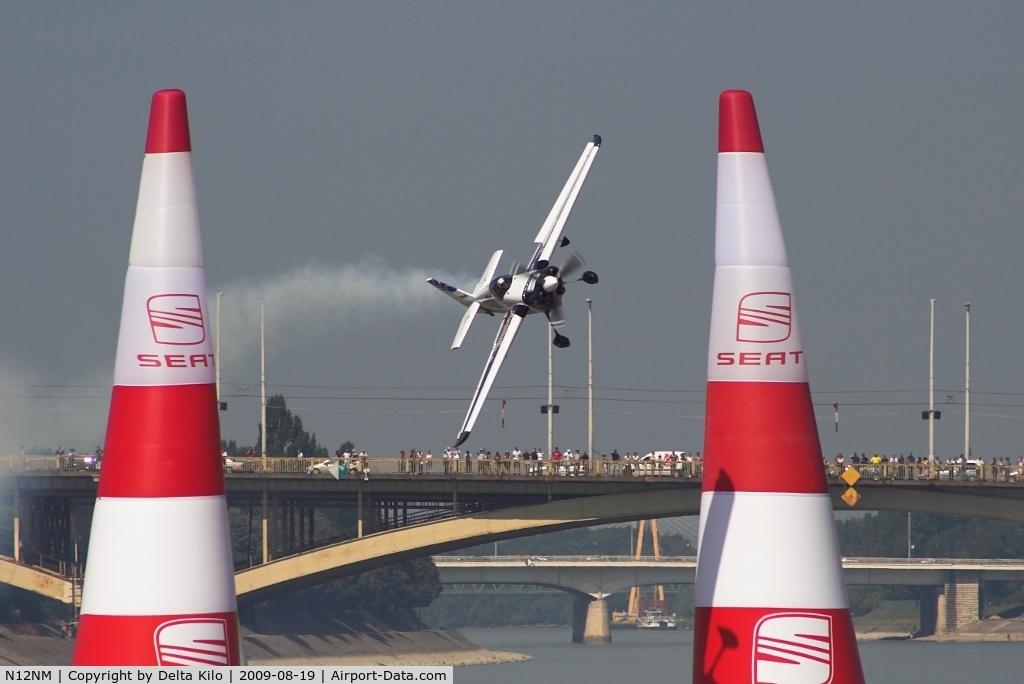 N12NM, 2006 Zivko Edge 540K C/N 0036AK, Red Bull Air Race Budapest -Mike Mangold