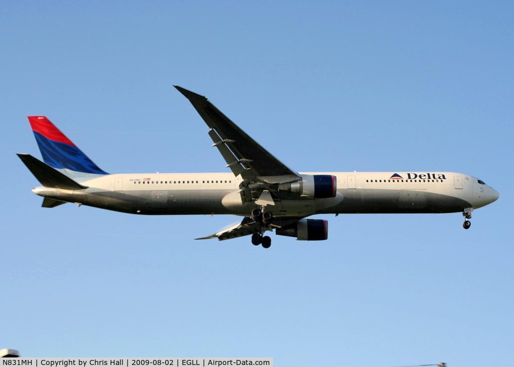 N831MH, 2000 Boeing 767-432ER C/N 29702, Delta Airlines